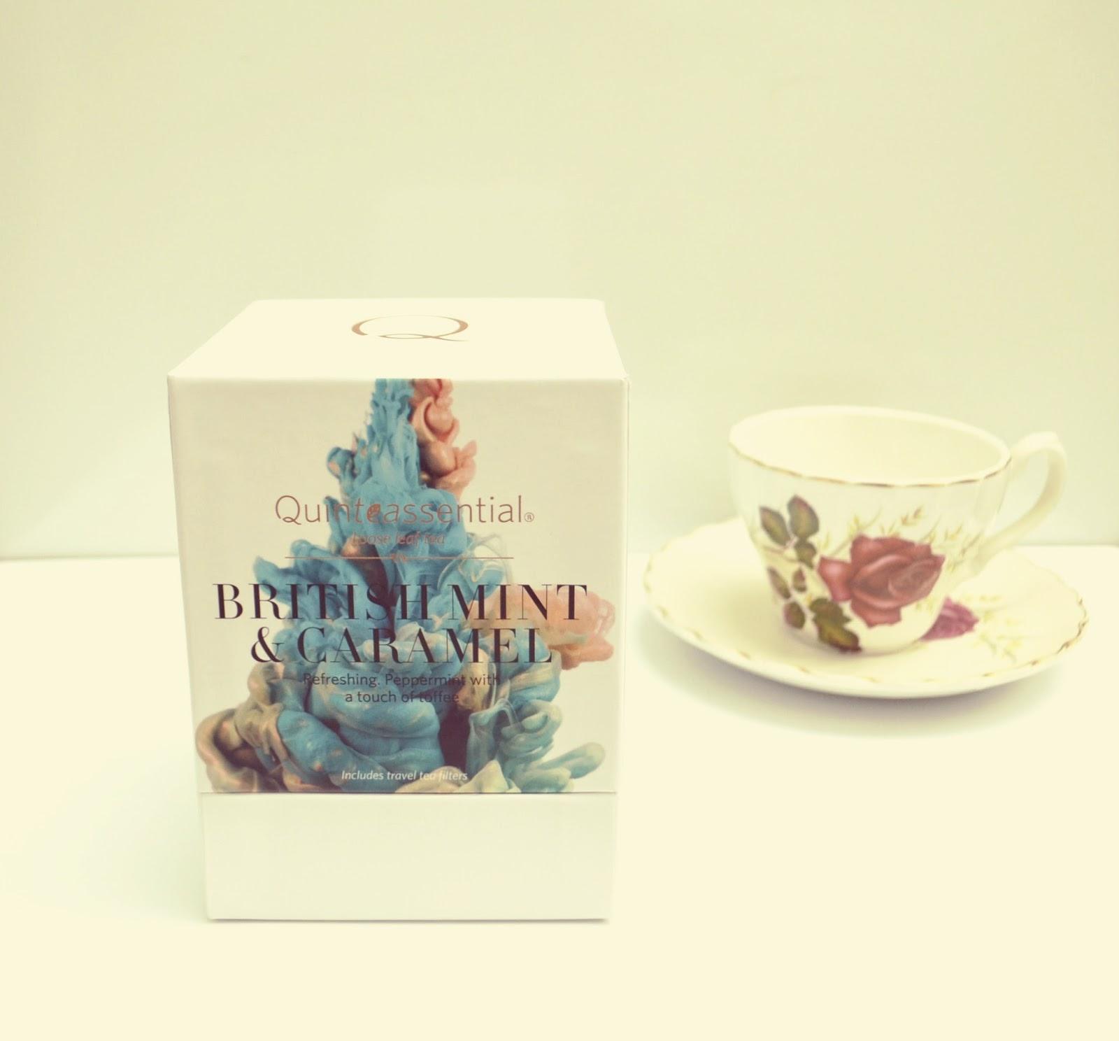 Quinteassential Teas British Mint & Caramel Review