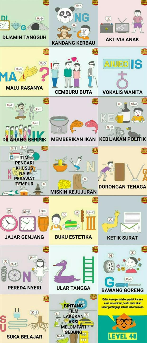 Jawaban Tebak Gambar Level 15 Beserta Gambarnya Berbagi Cerita