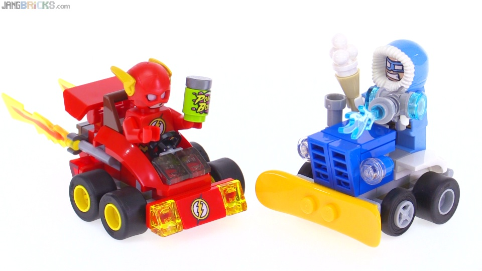 Lego Mighty Micros The Flash Vs Captain Cold Review 76063