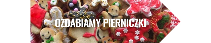 ozdabiamy świąteczne pierniczki