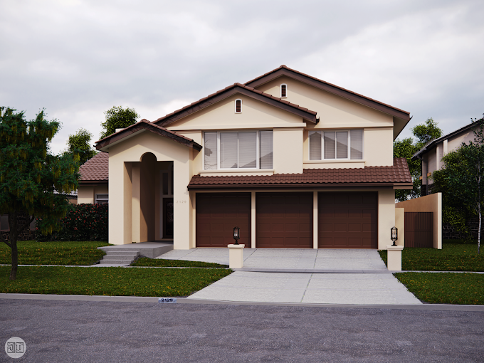 Residential Design Render, US