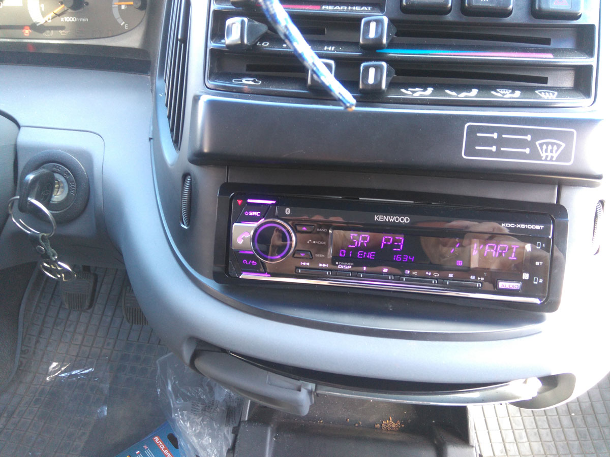the car stereo installation turned out alright and was a breeze thanks to iso harness being [ 1200 x 900 Pixel ]