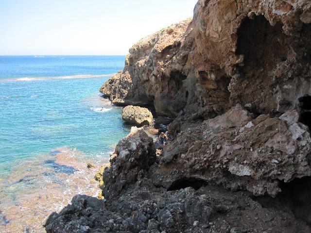 Accés nord a la cova Tallada