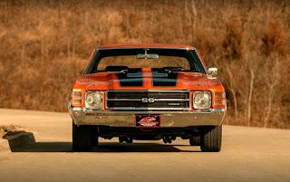 1971 Chevrolet Chevelle Malibu SS Front