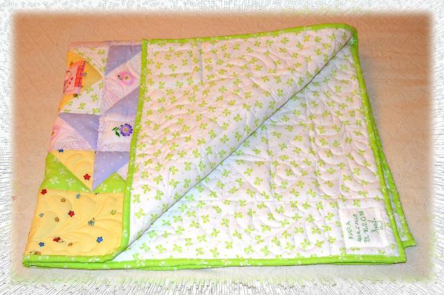 квилт. детское одеяло