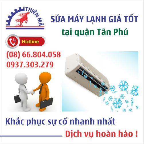 Sửa máy lạnh tận nhà tại Quận Tân Phú