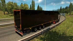 ETS2 Black Trailer