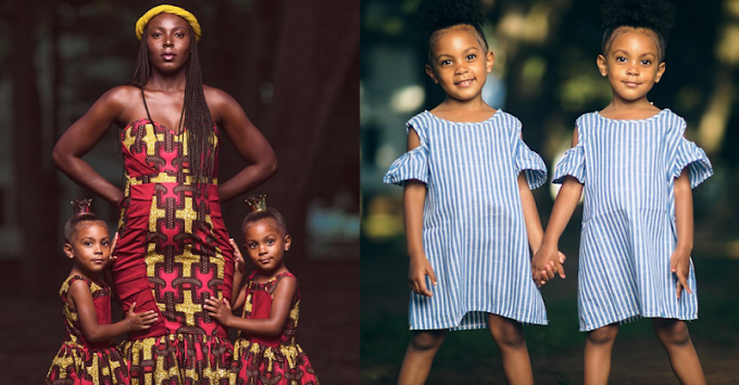 The internet's favorite twins pose for photo shoot with their mom to announce new sibling