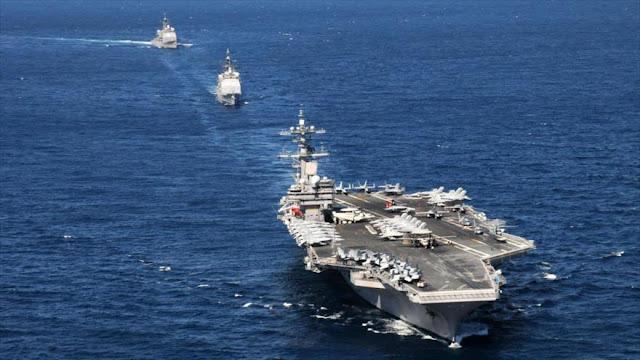 """EEUU se siente """"incómodo"""" en el Golfo Pérsico ante drones iraníes"""