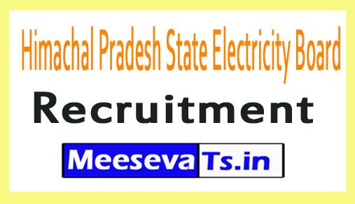 Himachal Pradesh State Electricity Board HPSEB Recruitment