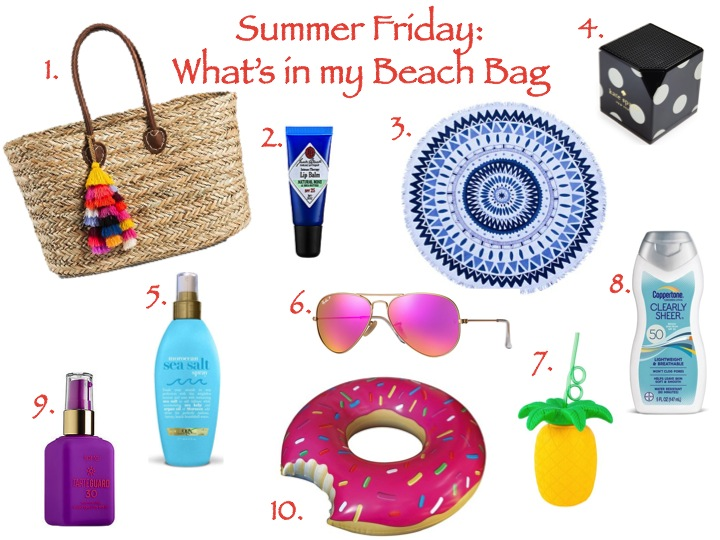 The Fashionably Late Blonde: Summer Friday: What's in my ...