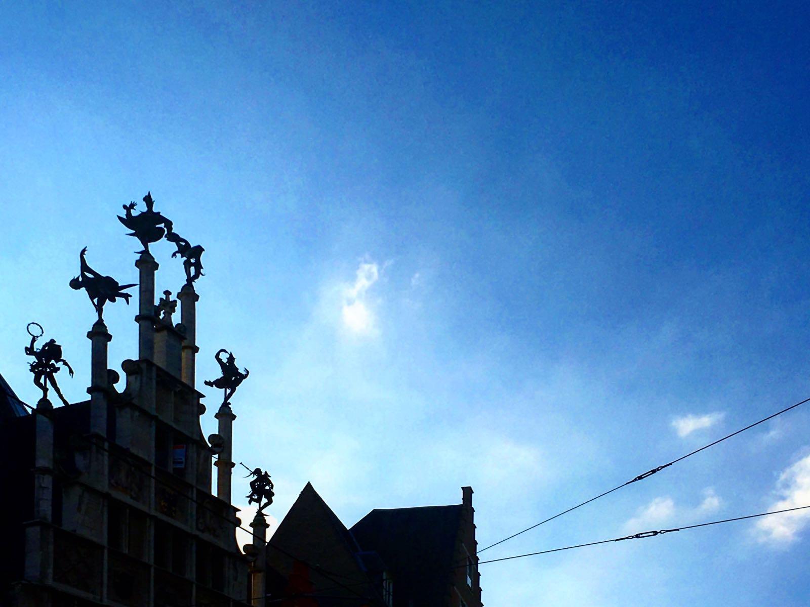 Le Chameau Bleu - Photo de la ville de Gand - Belgique