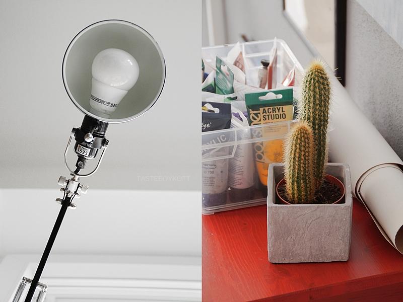 Jugendzimmer kreativ und stylisch einrichten mit Pflanzen, schlichter Deko, Leuchten, Büchern etc. Weitere Wohnideen: tasteboykott.blogspot.de
