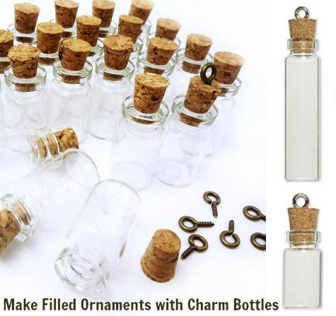 Charm Bottle Ornaments