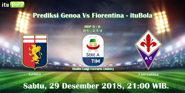 Prediksi Genoa Vs Fiorentina - ituBola