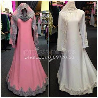 baju nikah putih online