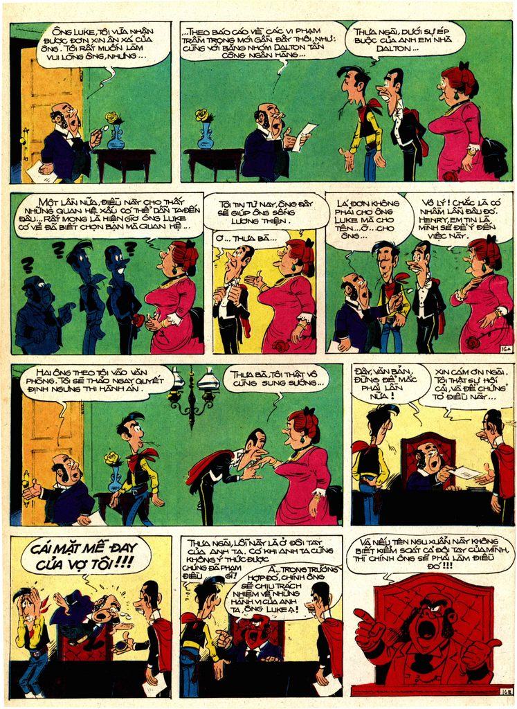 Lucky Luke tap 1 - ban tay nham trang 15