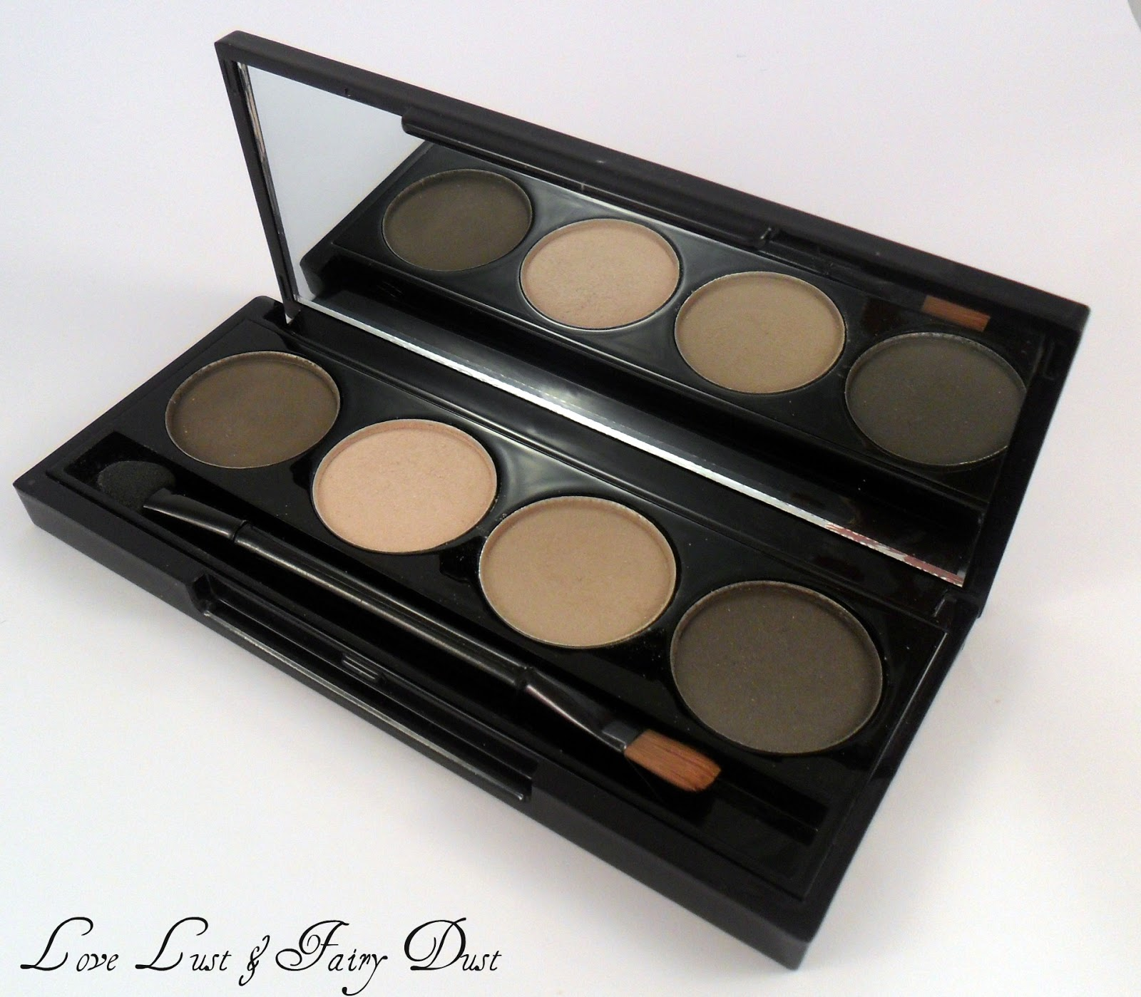 Colour Couture Cosmetics eye shadow quad
