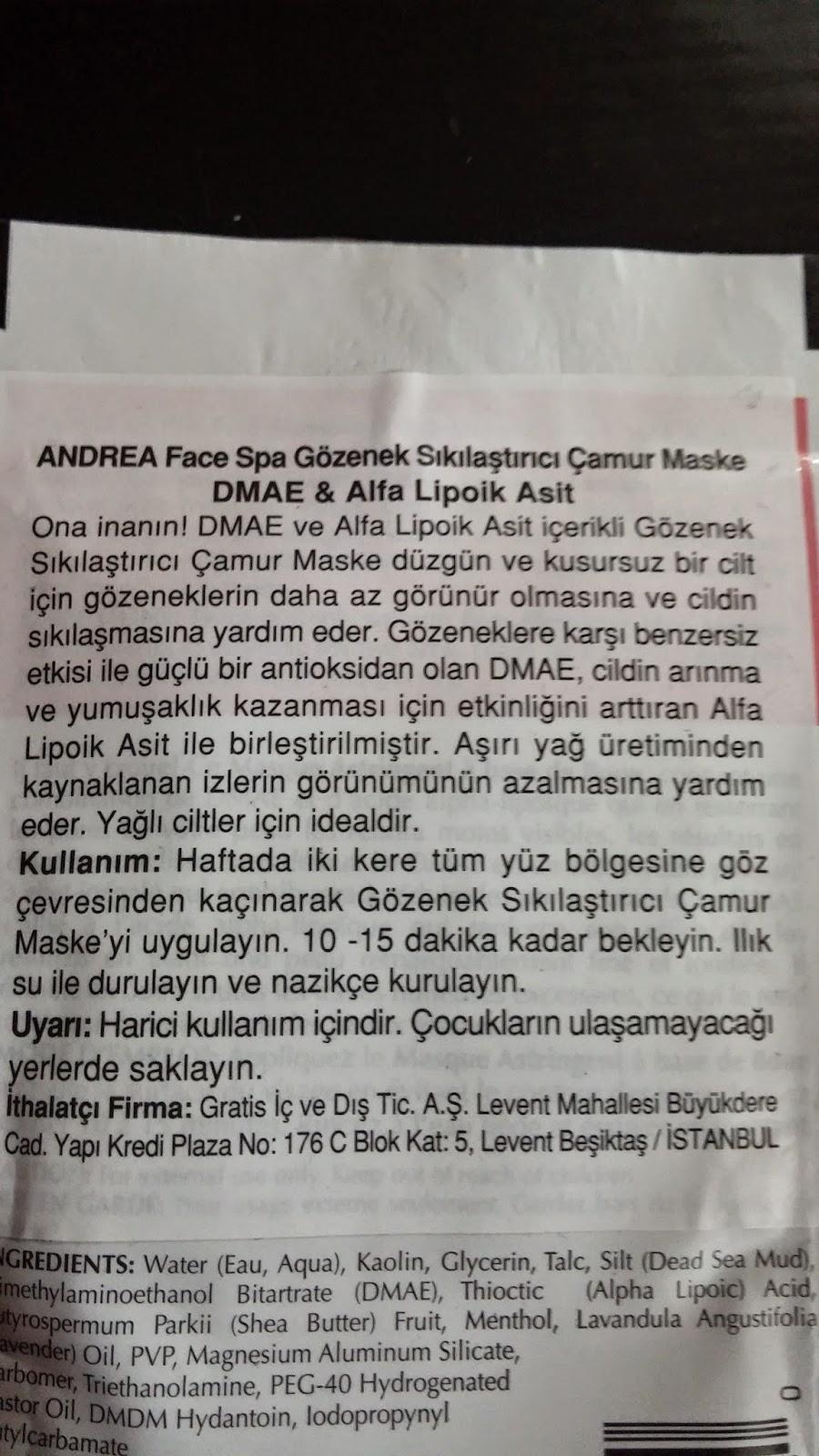 Andrea Face Spa