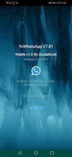 WaMe v1.0 Alpha 1