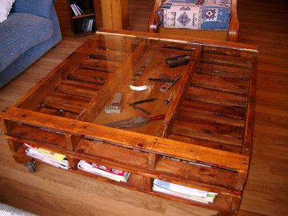 Muebles caseros de madera
