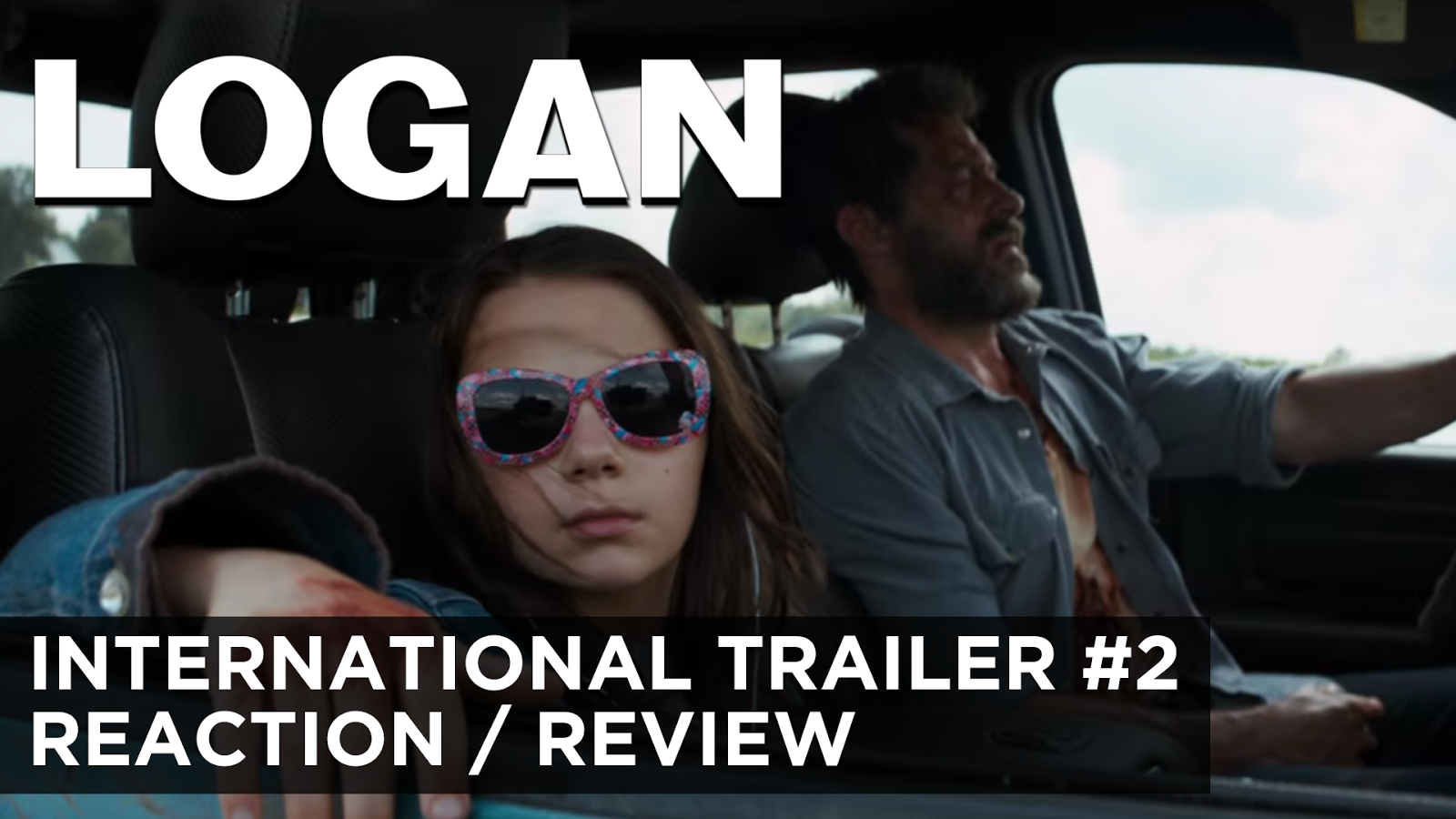reaction to trailer for Logan