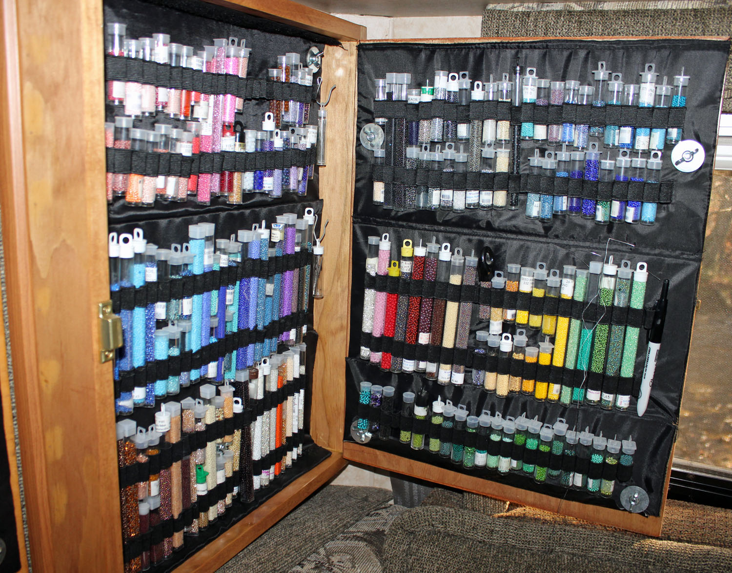 Betty Stephan Beadwork: Confessions of a Bead Hoarder