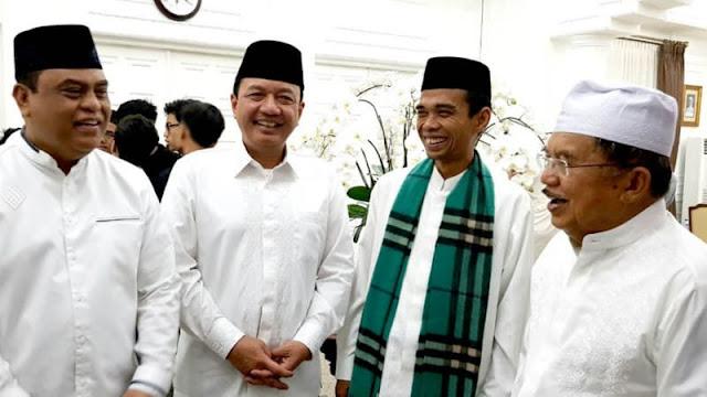 Wapres JK: Ceramahnya Lucu dan Kaya Rujukan, DMI Siap Fasilitasi Dakwah Ustadz Abdul Somad