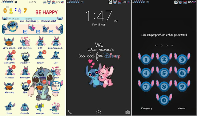 Stitch Theme V2 For Vivo Smartphone