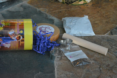 The contents of a Pet Perennials kit