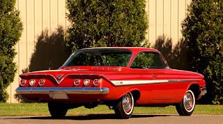 1961 Chevrolet Impala SS Rear