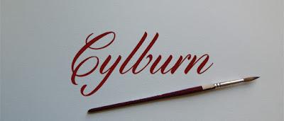Cylburn Free cursive font