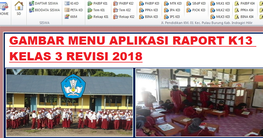 Aplikasi Rapor K13 Kelas 3 Semester 2 Revisi Terbaru Info Pendidikan Terbaru