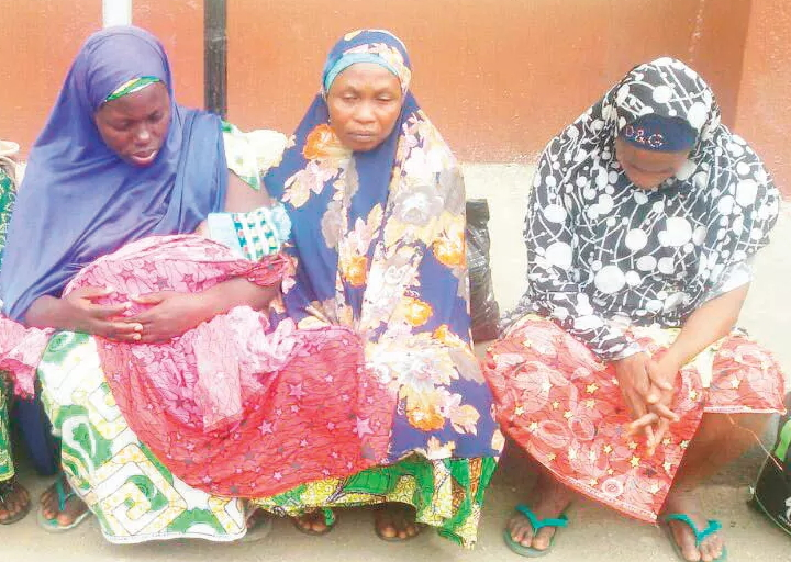 women rent babies street beggars