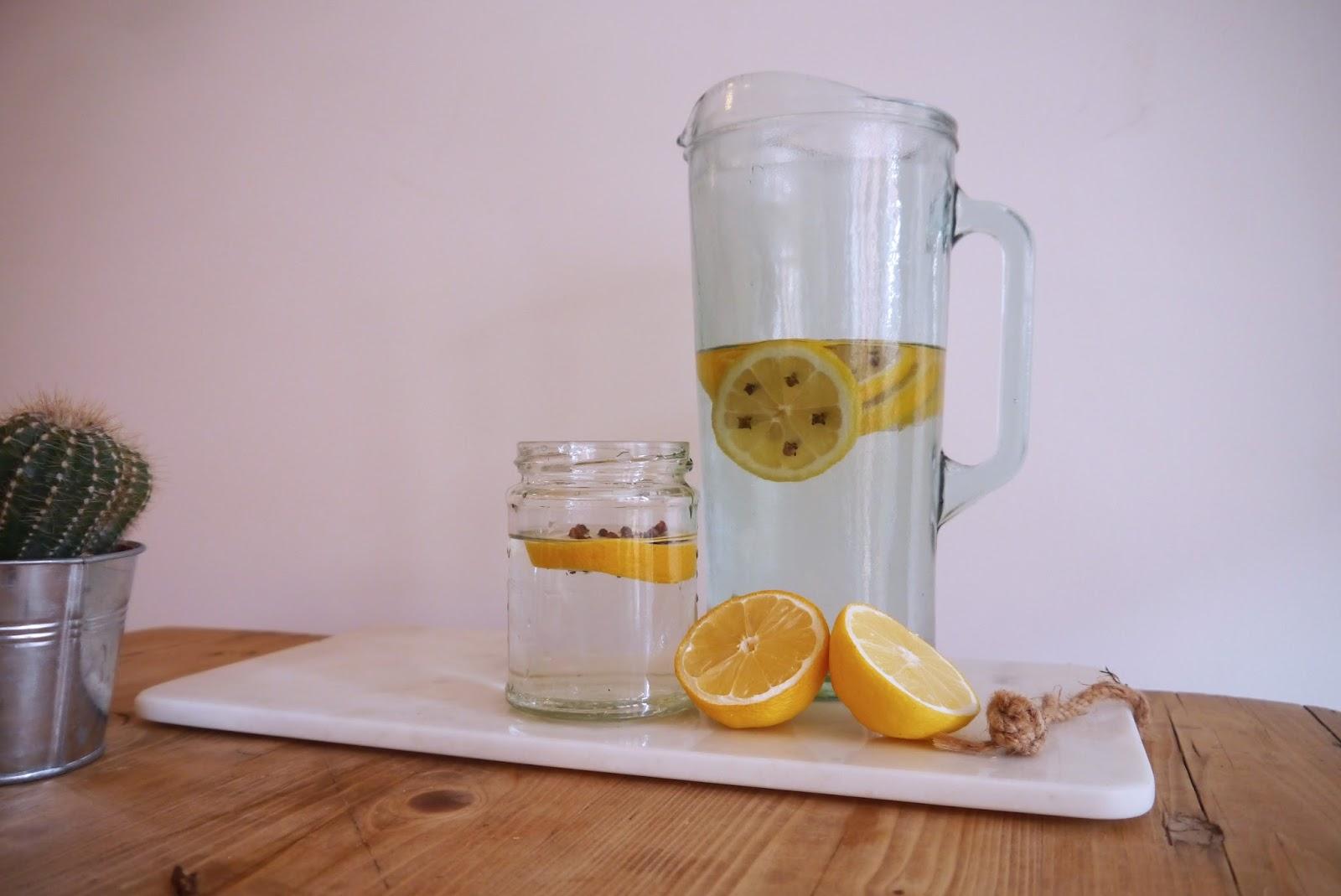 lemon and ginger tea morning cleanse