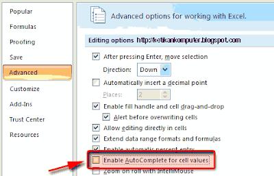 Sửa lỗi gõ Tiếng Viết đ thành dđ, gõ ô thành oô trong Excel 2007 Excel 2016
