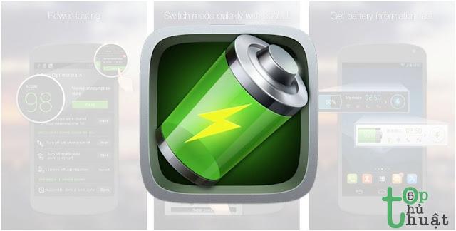 Các loại ứng dụng tiết kiệm pin
