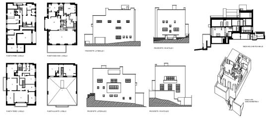 Villa M 252 Ller Adolf Loos Praga 1928 Arquitectura Y
