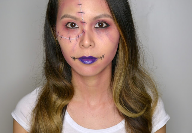 MAKE UP FOR EVER Halloween Zombie Makeup Look