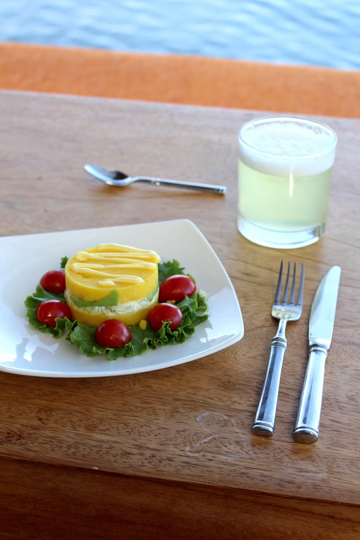 Lunch at Amantica Lodge, Lake Titicaca, Peru - South America travel blog