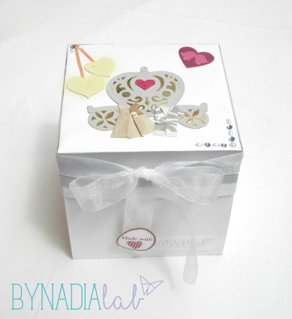 scatola sorpresa matrimonio