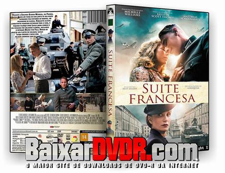 SUITE FRANCESA (2016) DUAL AUDIO DVD-R OFICIAL