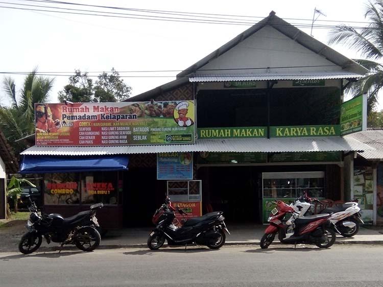 Rumah Makan Karya Rasa Pantai Pangandaran