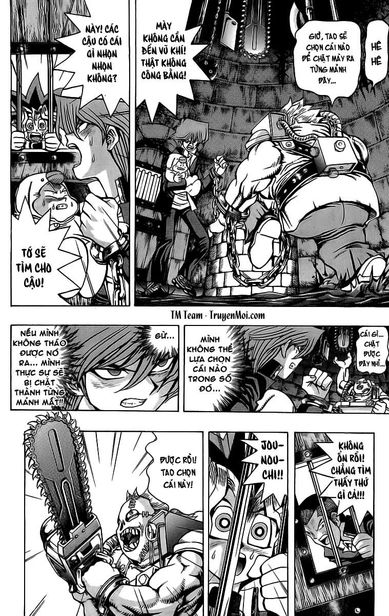 YUGI-OH! chap 32 - trò cưa xích sinh tử trang 12
