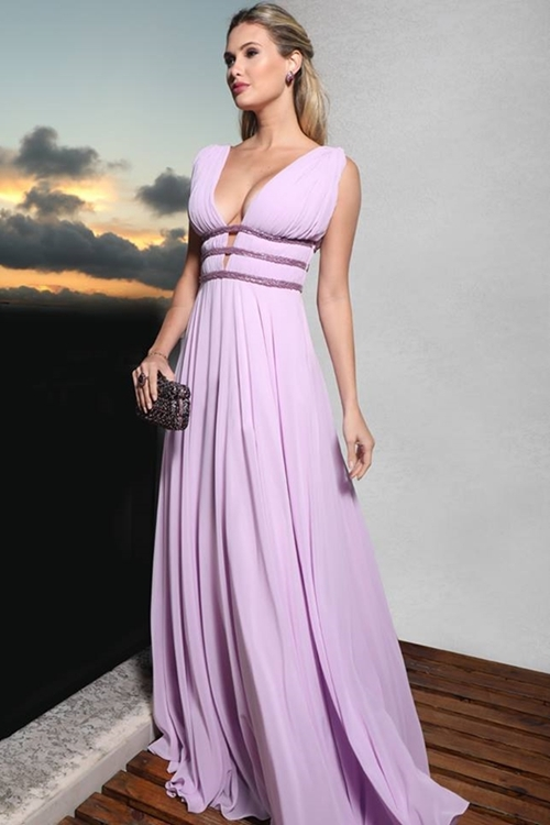 vestido lilás madrinha