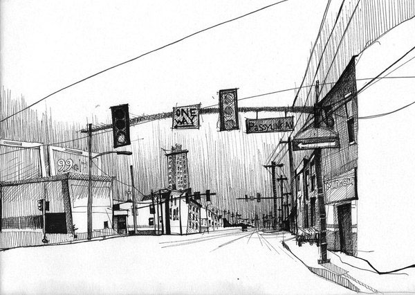 13-Gregor-Louden-Architectural-Drawings-of-our-Streets-www-designstack-co