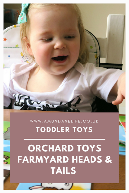 The Orchard Toys Farmyard Heads & Tails game is for children 18months+ and helps to develop key skills, such as memory, hand eye coordination and social skills.