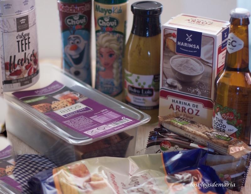 Arroz con pollo y verduras a la salsa de sidra, nata y soja