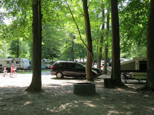 Hoffmaster State Park campground