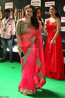 Sridevi Vijaykumar in Sinduri Red Saree at IIFA Utsavam Awards 2017  Day 2  Exclusive 22.JPG